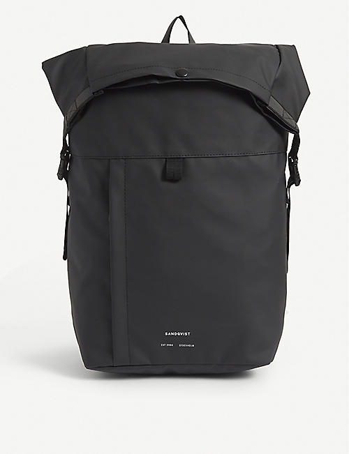 SANDQVIST: Konrad recycled nylon backpack