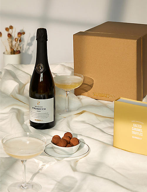 SELFRIDGES SELECTION: Prosecco and Salted Caramel gift box
