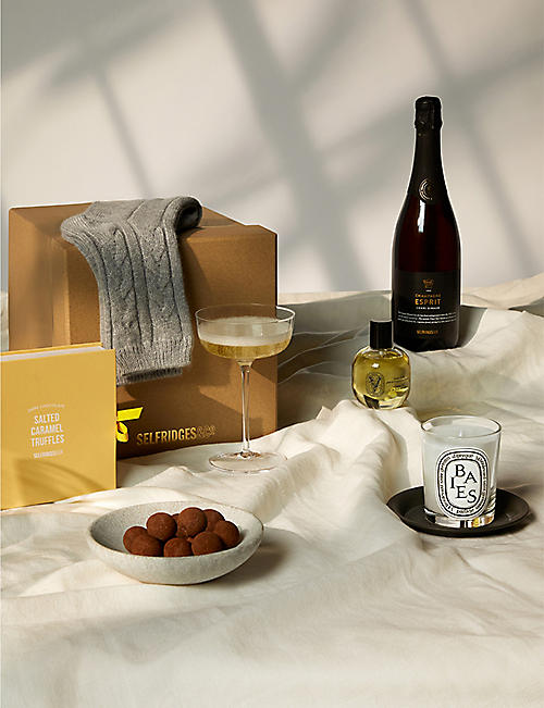 SELFRIDGES SELECTION: Champagne Diptyque gift box