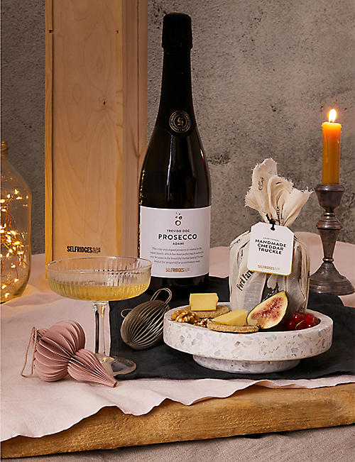 SELFRIDGES SELECTION: Cheddar and Prosecco Gift Box