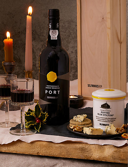 SELFRIDGES SELECTION: Stilton And Port gift box