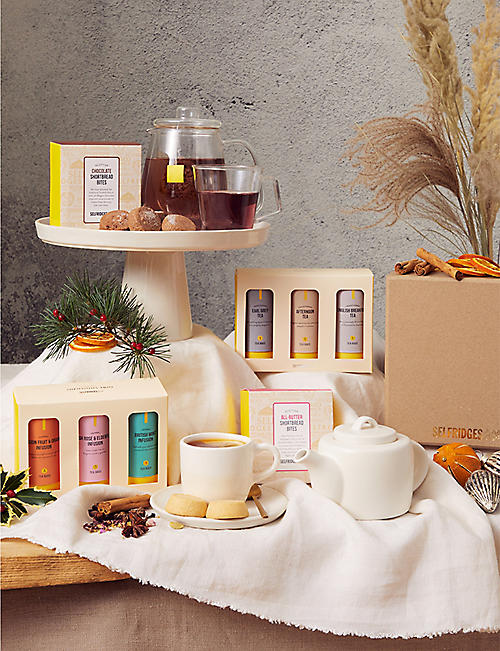 SELFRIDGES SELECTION: International Afternoon Tea gift box