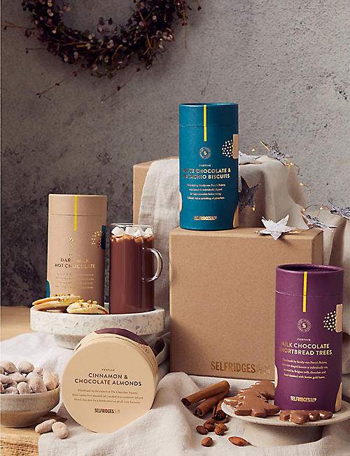 SELFRIDGES SELECTION: Int. Christmas Treats Gift Box::