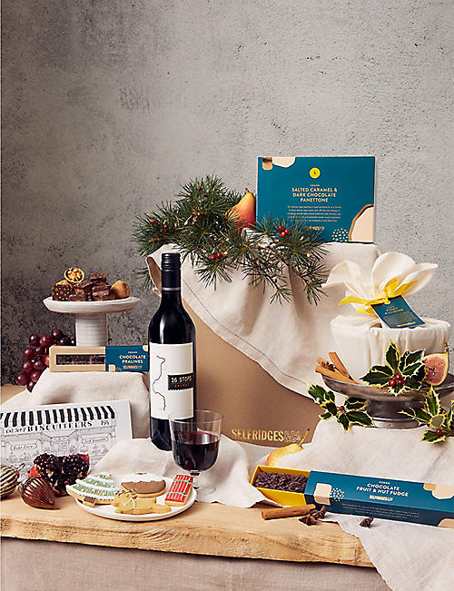 SELFRIDGES SELECTION: International Vegan Christmas gift box