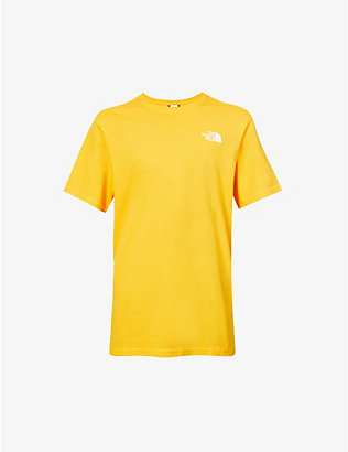 THE NORTH FACE: Branded graphic-print cotton-jersey T-shirt