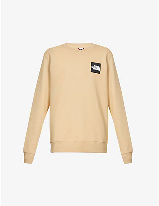 THE NORTH FACE: Logo-patch cotton-jersey sweatshirt