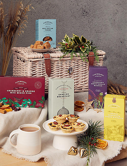 CARTWRIGHT & BUTLER: International Christmas Tea hamper