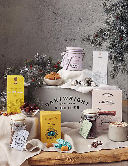 CARTWRIGHT & BUTLER: International Sweet Treats hamper