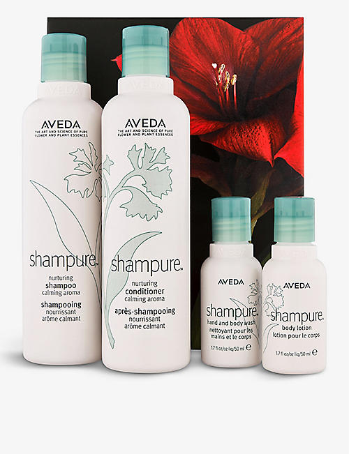 AVEDA: Shampure™ nurturing hair and body care set