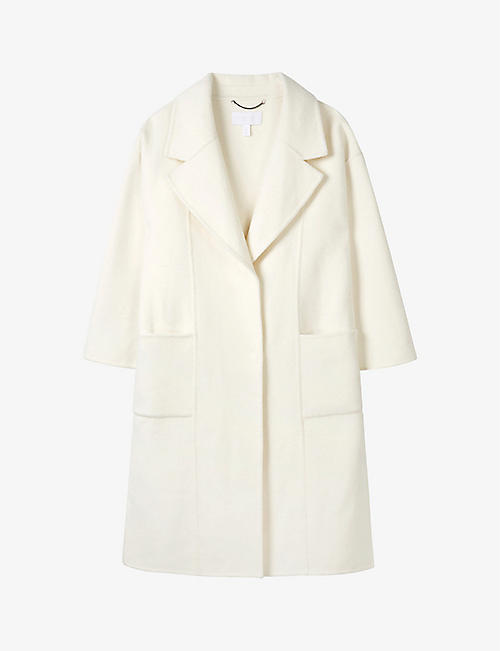 THE WHITE COMPANY: Double-faced wool-blend coat
