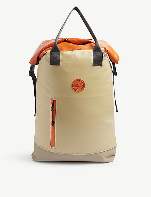 SEALAND: Rowlie upcycled nylon roll-top backpack