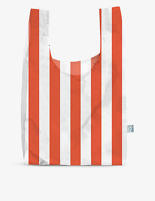 KIND BAG: Striped reusable woven bag
