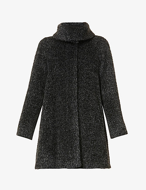 MAX MARA STUDIO: Gregory alpaca and wool-blend coat