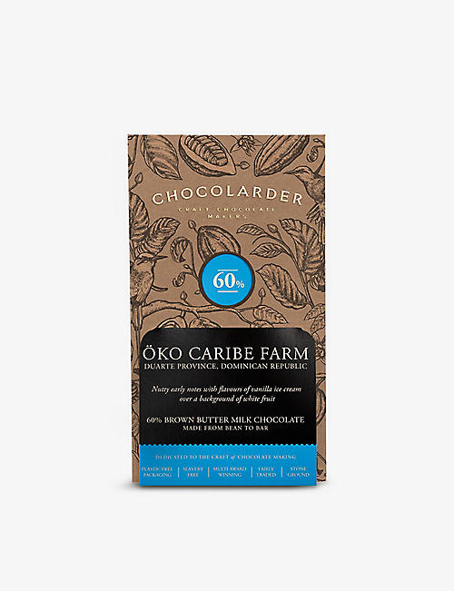 CHOCOLARDER: Oko Caribe Farm 60% brown butter milk chocolate 70g
