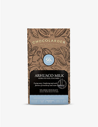 CHOCOLARDER: Arhuaco 50% milk chocolate 70g