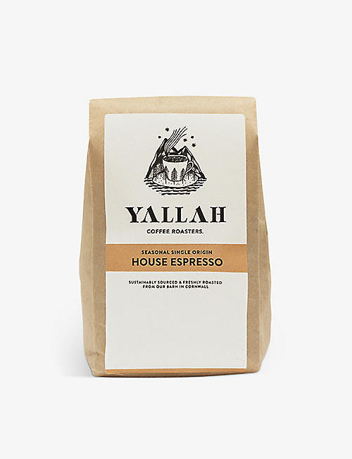 COFFEE: Seasonal Single Origin House Espresso ground coffee 250g