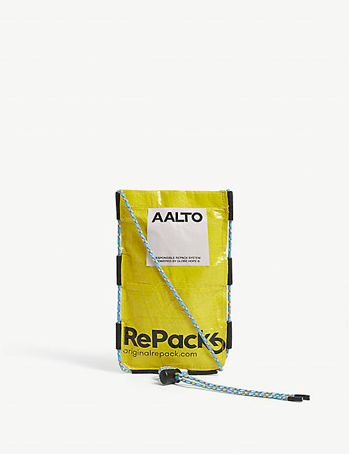 AALTO: RePack recycled plastic phone pouch