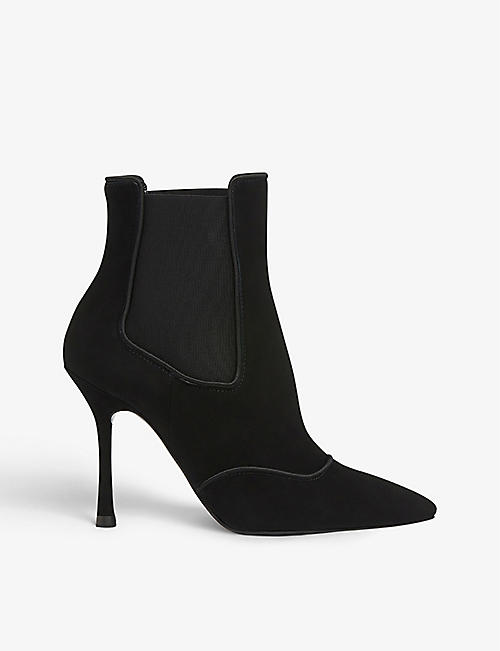 LK BENNETT: Adelaide suede ankle boots