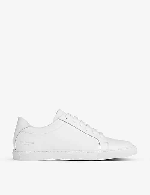 LK BENNETT: Jack leather trainers