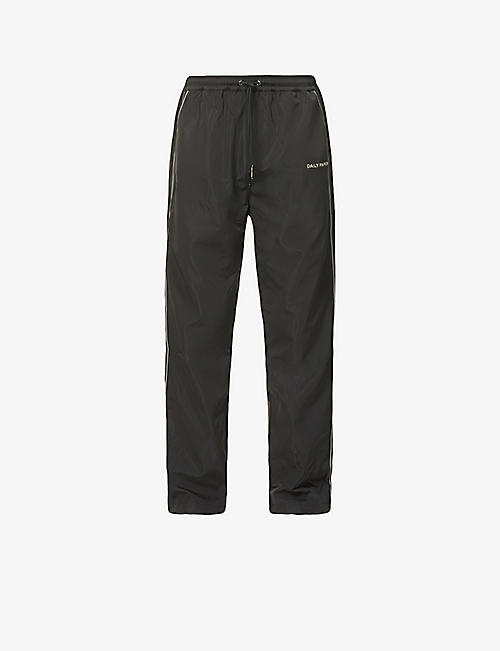 DAILY PAPER: Alias branded shell jogging bottoms