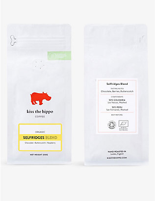 COFFEE: Kiss the Hippo Selfridges blend ground coffee 250g