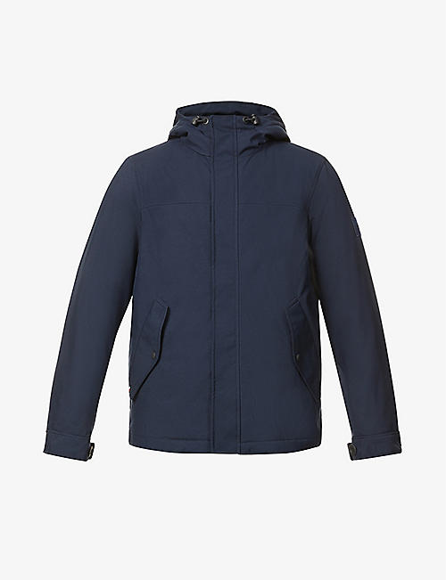 TOMMY HILFIGER: Hooded padded shell jacket