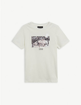 THROWBACK: The Rest is History cotton-jersey T-shirt 4-16 years