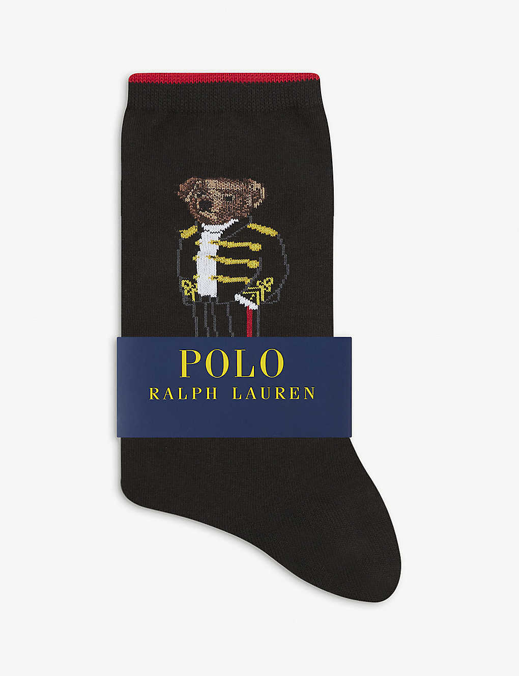 POLO RALPH LAUREN: Admiral Bear cotton-blend socks