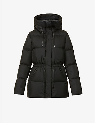 MACKAGE: Freya hooded shell-down coat