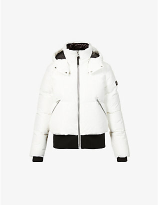 MACKAGE: Aubrie hooded shell-down jacket