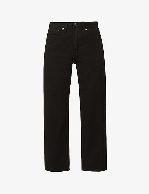 RAG & BONE: Maya straight high-rise jeans