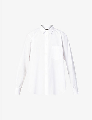 COMME DES GARCONS HOMME PLUS: Relaxed-fit cotton shirt