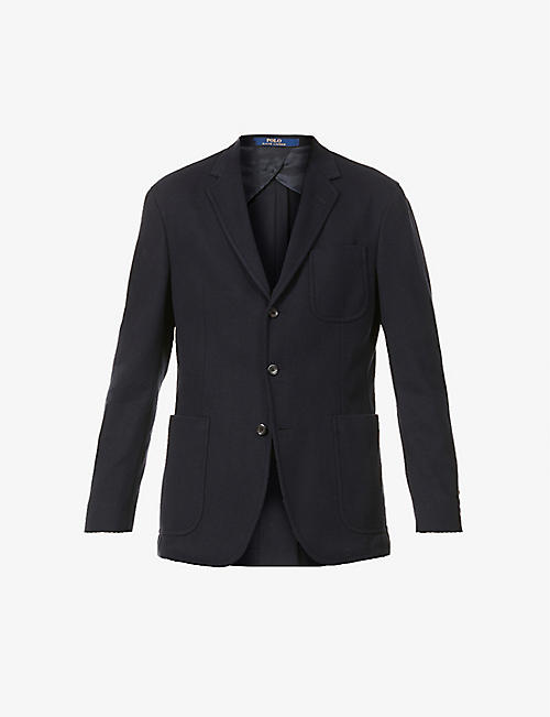 POLO RALPH LAUREN: Three-button woven blazer