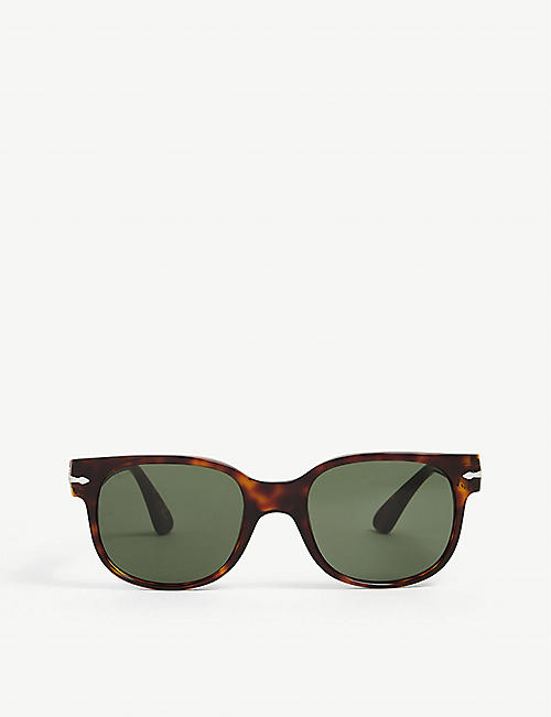 PERSOL: PO3257S square-framed acetate sunglasses