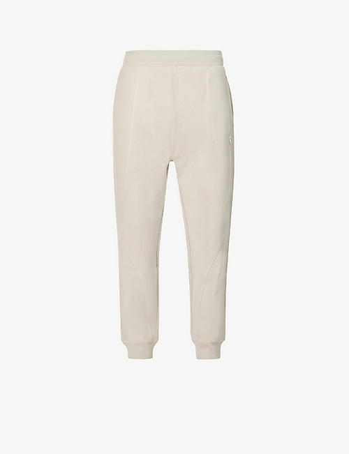 A-COLD-WALL: Contour panelled cotton-jersey jogging bottoms