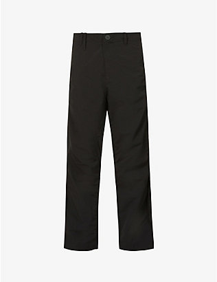 A-COLD-WALL: Brand-plaque straight shell trousers