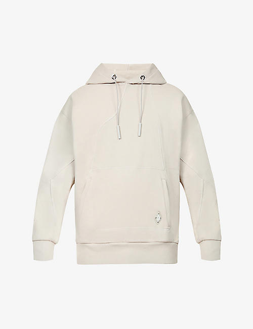 A-COLD-WALL: Contour panelled cotton-jersey hoody