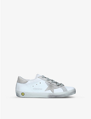 GOLDEN GOOSE: Superstar leather trainers 6-8 years