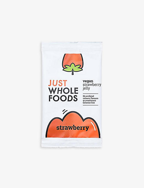 NONE: Just Whole Foods Vegan Strawberry Jelly 85g