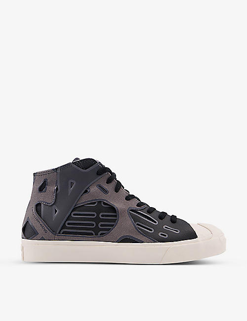 CONVERSE: Feng Chen Wang Jack Purcell leather trainers