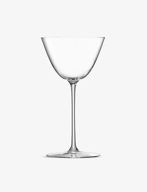 LSA: Borough set of four Martini glasses