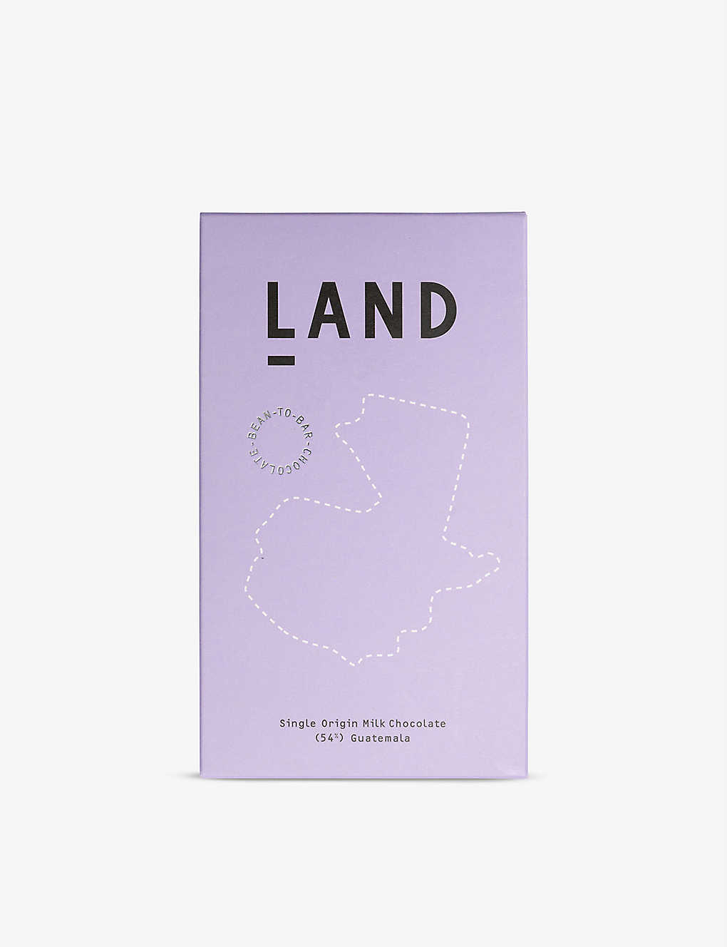 CHOCOLATE: Land 54% Guatemalan milk chocolate bar 60g
