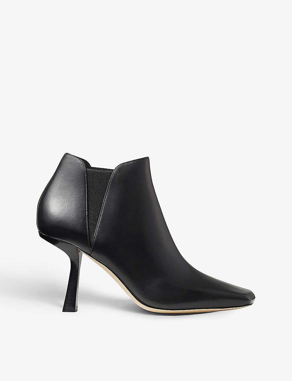 JIMMY CHOO: Marcelin 85 leather ankle boots
