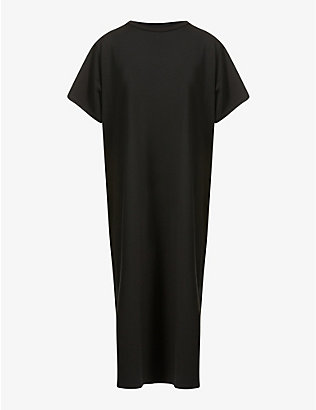 THE ROW: Aprile oversized cotton maxi dress
