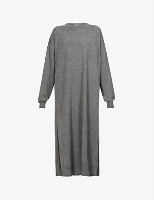 THE ROW: Anibale cashmere midi dress