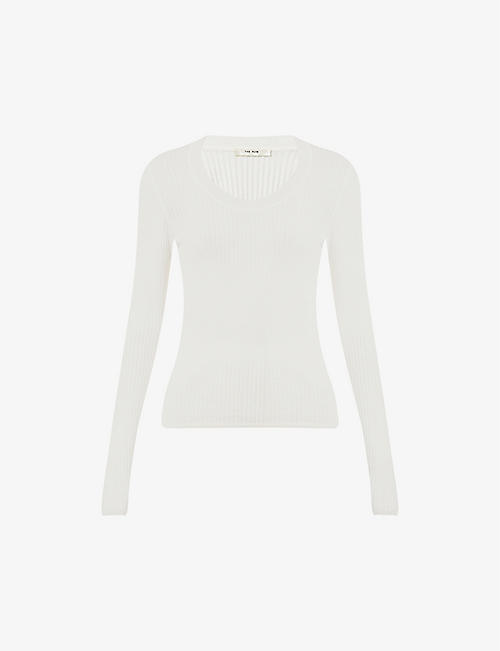 THE ROW: Amaia ribbed wool-blend jumper