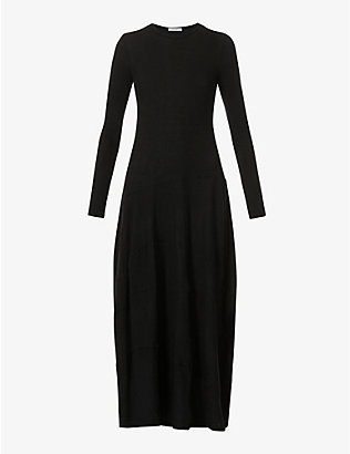 THE ROW: Arabella stretch-cashmere maxi dress
