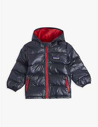 PATAGONIA: Hooded woven coat 3-36 months