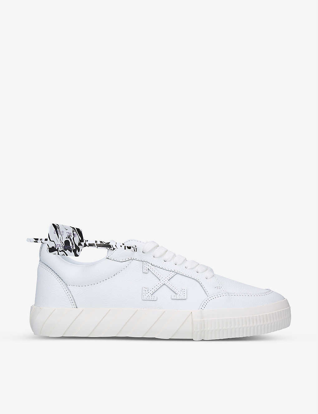 OFF-WHITE C/O VIRGIL ABLOH: Vulcanized leather trainers