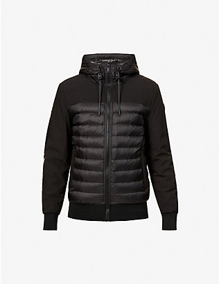 MOOSE KNUCKLES: Moutray hooded shell-down jacket